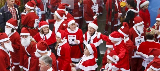 Santa Fun Run 2013