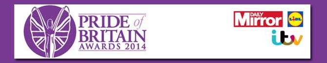 Pride of Britain Award 2014